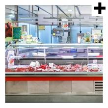 Imagen en la que se ve el plural del concepto carnicería