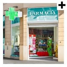 Imagen en la que se ve el plural del concepto farmacia