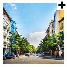 Imagen en la que se ve el plural del concepto calle