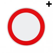 Imagen en la que se ve el plural del concepto señal de prohibido
