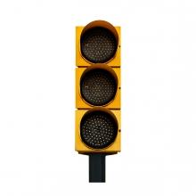 Imagen en la que se ve un semáforo