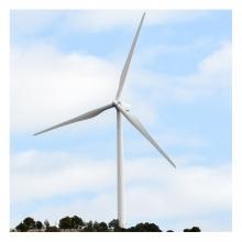 Imagen en la que se ve un molino de viento