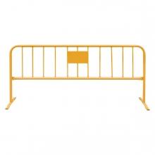 Imagen en la que se ve una valla metálica