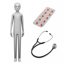 Imagen en la que se ve el concepto de médico