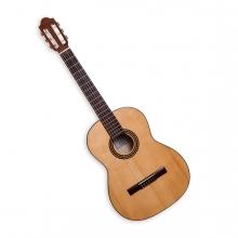 Imagen en la que se ve una guitarra acústica