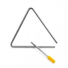 Imagen en la que se ve un instrumento triángulo