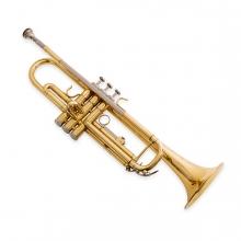 Imagen en la que se ve una trompeta