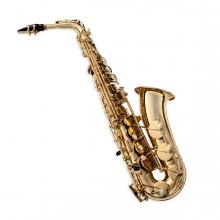 Imagen en la que se ve un saxofón