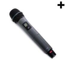 Imagen en la que se ve el plural del concepto micrófono
