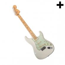 Imagen en la que se ve el plural del concepto guitarra eléctrica