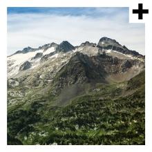 Imagen en la que se ve el plural del concepto montaña