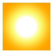 Imagen en la que se ve el Sol