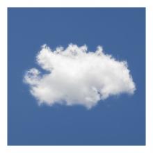 Imagen en la que se ve una nube