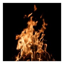 Imagen en la que se ve un fuego