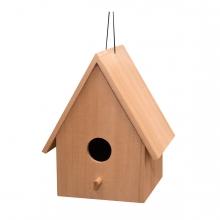 Imagen en la que se ve una casita para pájaros