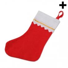 Imagen en la que se ve el plural del concepto calcetín navideño