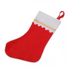 Imagen en la que se ve un calcetín navideño