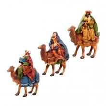 Imagen en la que se ven los 3 Reyes Magos