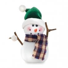 Imagen en la que se ve un muñeco de nieve