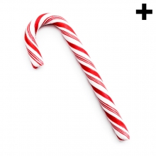 Imagen en la que se ve el plural del concepto bastón de caramelo