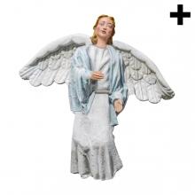 Imagen en la que se ve el plural del concepto ángel