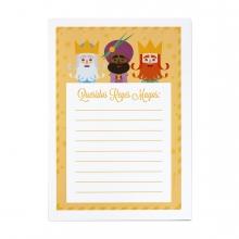Imagen en la que se ve una carta a los Reyes Magos