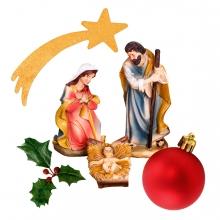 Imagen en la que se ve el concepto genérico de Navidad
