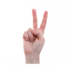 Imagen que representa el número dos
