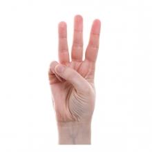 Imagen que representa el número tres