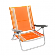 Imagen en la que se ve una silla de playa