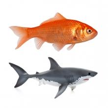 Imagen en la que se ve el concepto genérico de peces