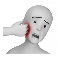 Imagen del verbo pegar un puñetazo