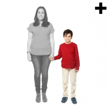 Imagen en la que se ve el plural del concepto hijo