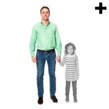 Imagen en la que se ve el plural del concepto padre