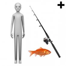 Imagen en la que se ve el plural del concepto pescador o pescadora