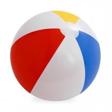 Imagen en la que se ve una pelota de playa