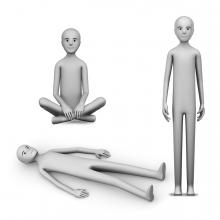 Imagen en la que se ve el concepto de postura corporal