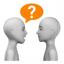 Imagen del verbo preguntar