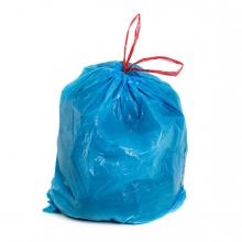 Imagen en la que se ve una bolsa de basura