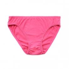 Imagen en la que se ve una braga de color rosa