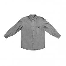 Imagen en la que se ve una camisa de color gris