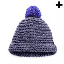 Imagen en la que se ve el plural del concepto gorro de lana