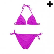 Imagen en la que se ve el plural del concepto bikini