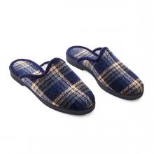 Imagen en la que se ve el plural del concepto zapatilla de casa