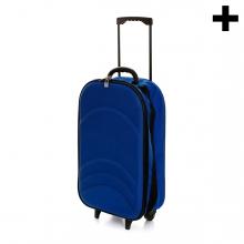 Imagen en la que se ve el plural del concepto maleta de viaje