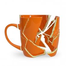Imagen en la que se ve una taza rota