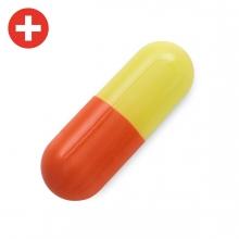 Imagen en la que se ve una cápsula de medicina