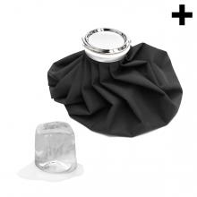 Imagen en la que se ve el plural del concepto bolsa de hielo