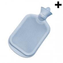 Imagen en la que se ve el plural del concepto bolsa de agua caliente
