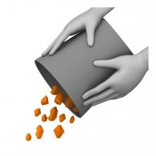 Imagen del verbo tirar